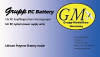 Grupp RC Battery
