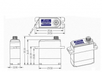 Grupp Servo GM2106 (Digital)