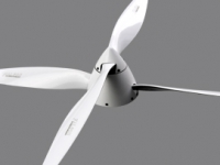 Falcon Kontra-Propeller Carbon 22x20R rear white